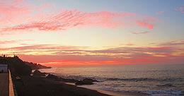 Puesta de sol Playa